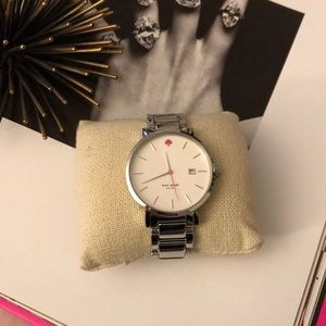 Kate Space Silver Watch